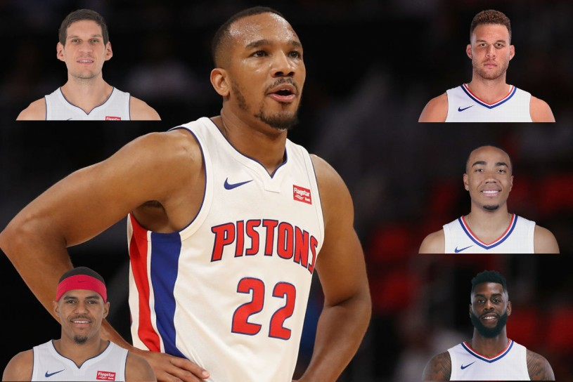 Avery Bradley Tobias Harris Blake Griffin Trade