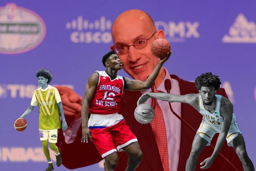 LaMelo Ball, Marvin Bagley, Zion WIlliamson