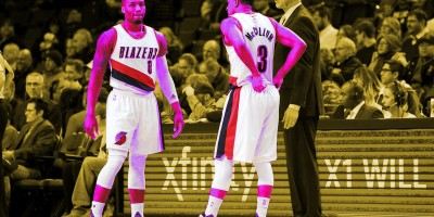 Damian Lillard and CJ McCollum